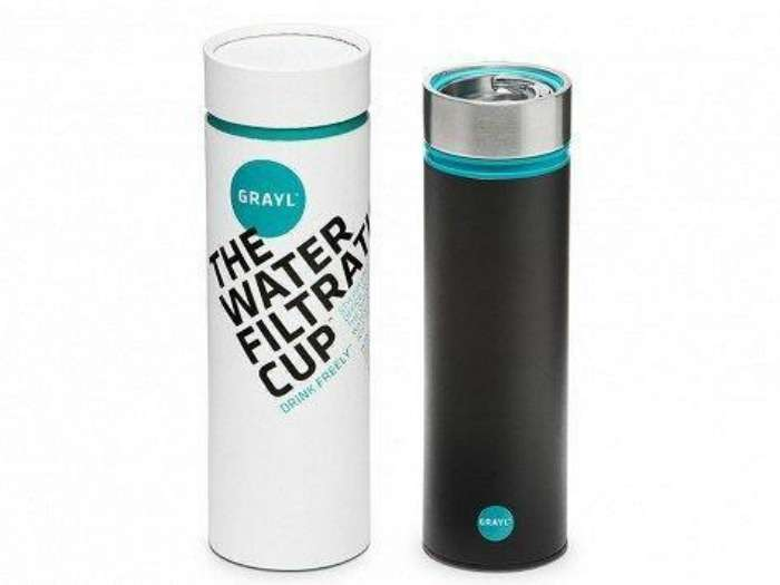 Water Filtration Press creates safe water on the go in only 15 seconds