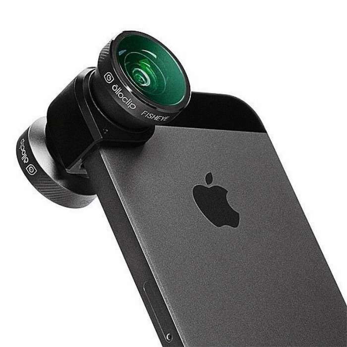 iPhone Camera Lens System - an attachable camera lens for your iPhone