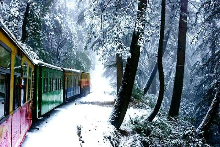 Shimla toy train journey in adventurous Himachal Pradesh