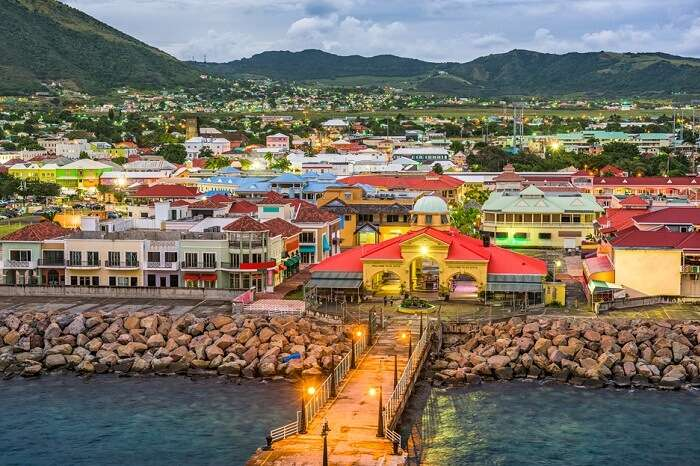 shutterstock-548428291-030617-A view of the skyline at the port of Basseterre in St Kitts and Nevis
