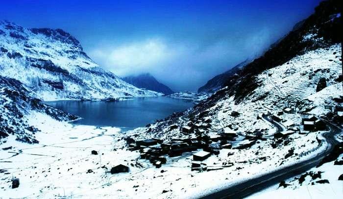 Breath fresh air at Lake Tsongmo (or Changu Lake), sikkim