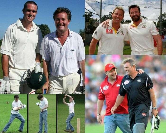 Celebrity Cricket fans