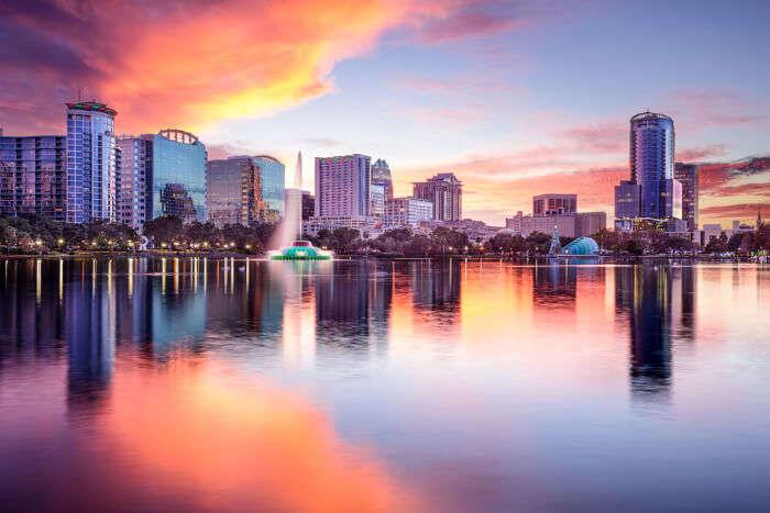 Orlando city view