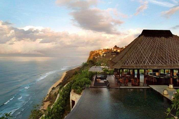 Enjoy serene beaches and splendid views at the luxury island resort in Bali