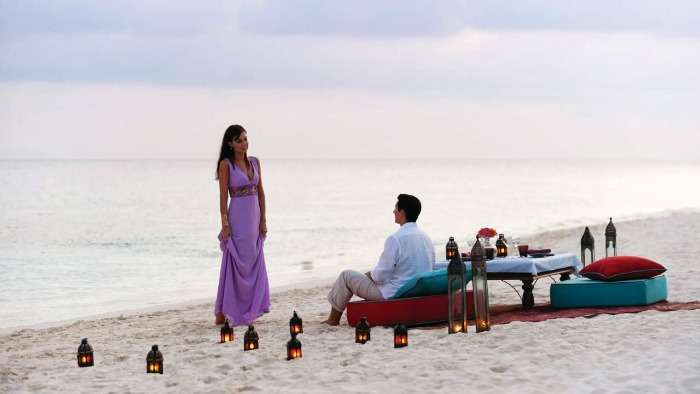 Stay at luxury beach and water villas for a lazy honeymoon in Maldives