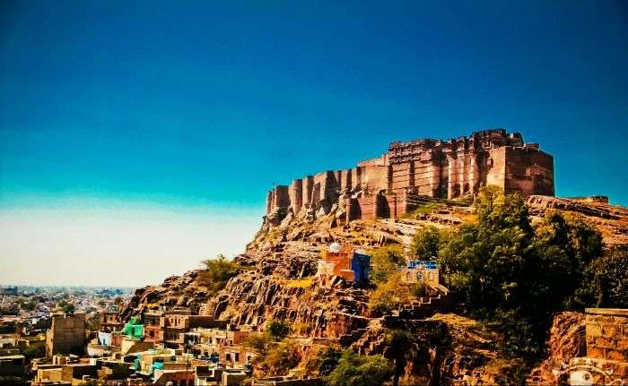 The Mehrangarh fort is full of exceptionally beautiful sights, Jodhpur
