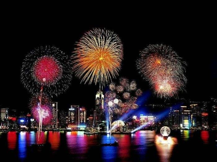 Go international to celebrate a spectacular New Year Fireworks