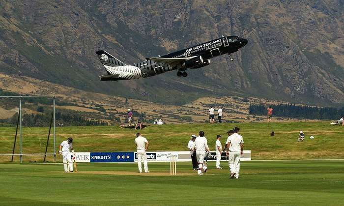 Queenstown Cricket Ground New Zealand