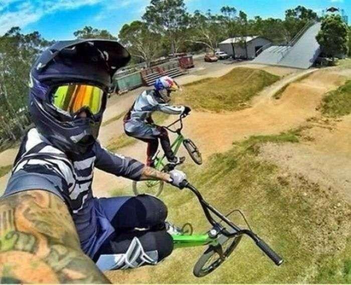 Stunt Selfie