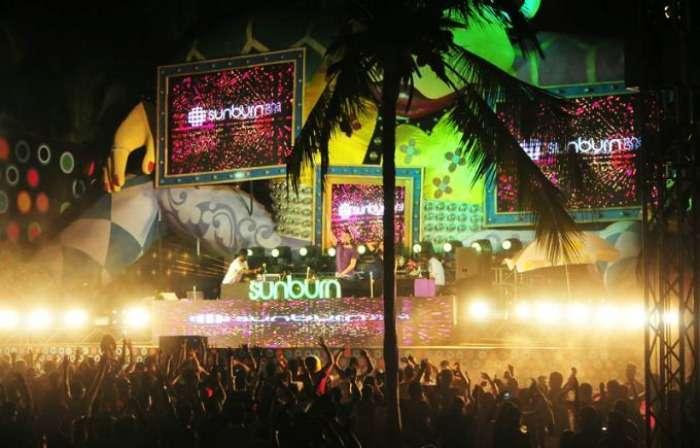 Sunburn Goa, ranked as the 9th best music festival in the World