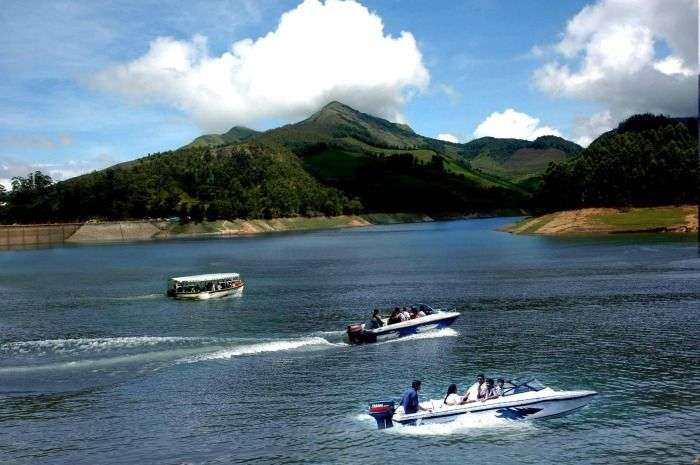 Explore the wild side of Kerala from the boat at Thekkady