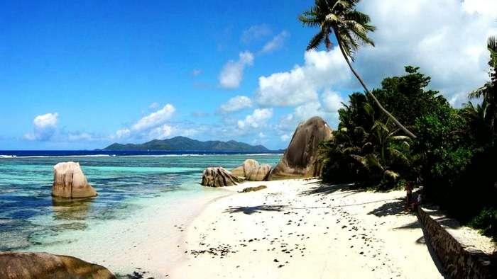 Dazzling white-sand beaches of Tioman Island, Malaysia