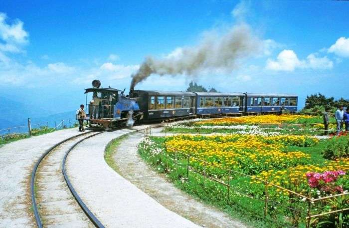 The Toy Train - a picturesque spot to proclaim your love in Darjeeling