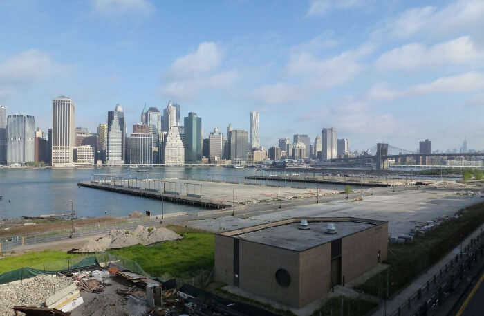 View of Brooklyn Bridge Park, New York