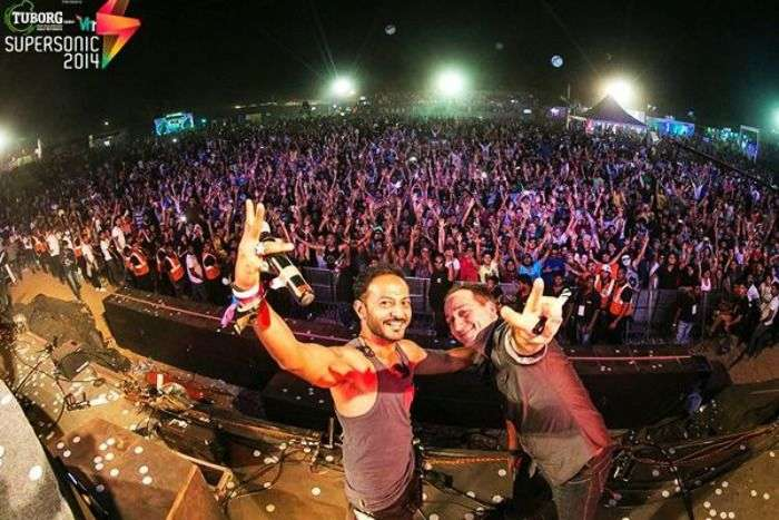 VH1 Supersonic - Electronic dance music at Candolim, Goa