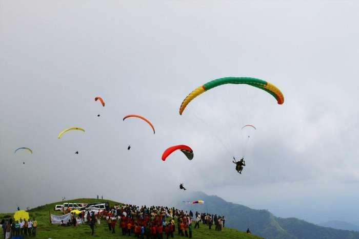 Meadows, forests and hills at Vagamon paradisiacal hill station