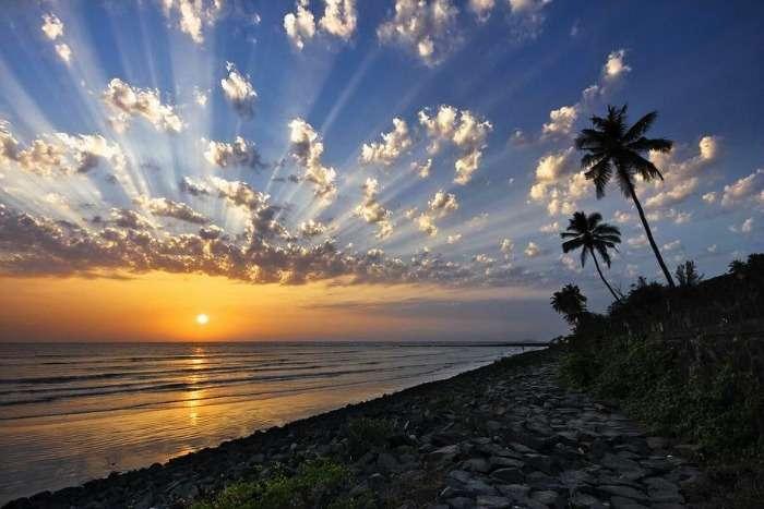 Sunset at Varsoli Beach, Alibaug