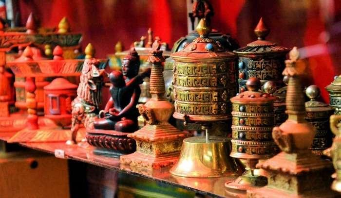 Samples of Bhutanese Art - Woodwork & Sculpture