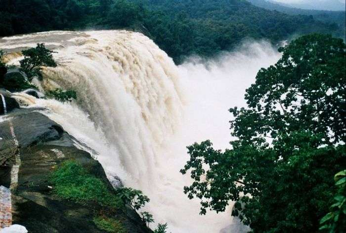 The majestic waterfall of Kerala, Athirapally