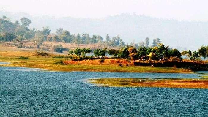 Ban Ganga Lake at Silvassa