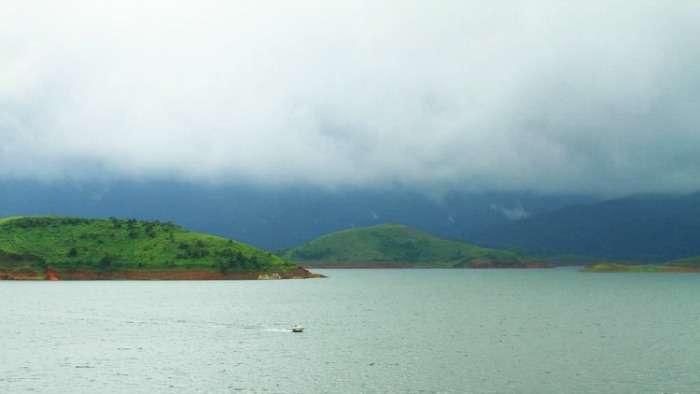 Boat ride at Banasura Sagar Dam