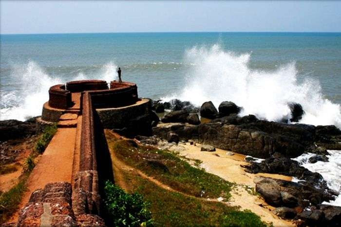 Bekal beach and fort is an exotic beach in Kerala