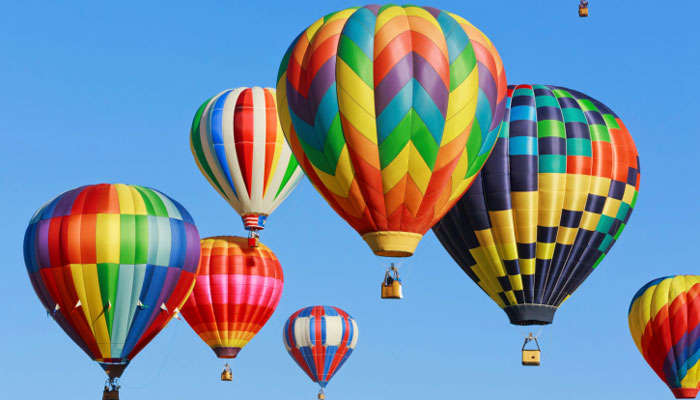 Best Destinations in India for Hot Air Balloon Ride
