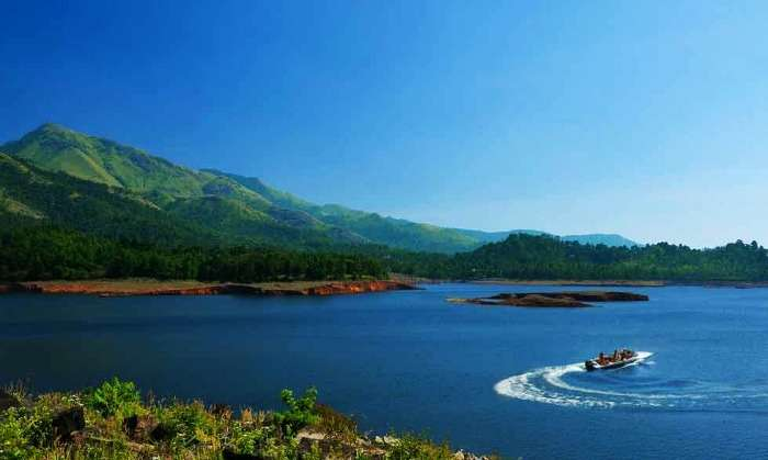 Boating at Banasura Sagar Dam