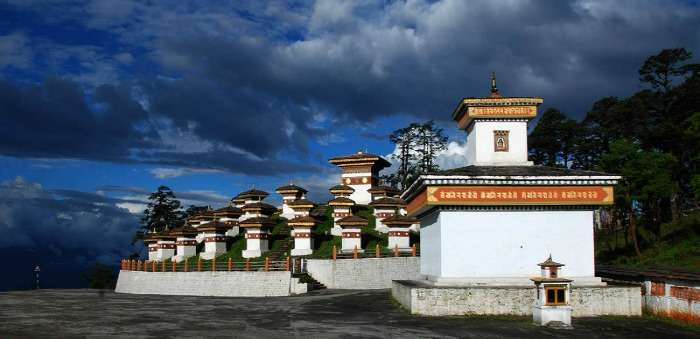 108 Chortens Built in memory of Bhutanese Soldiers