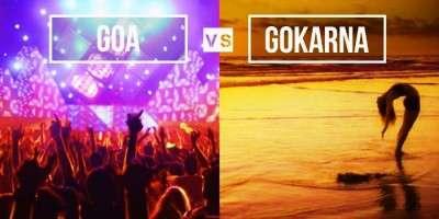Goa vs. Gokarna