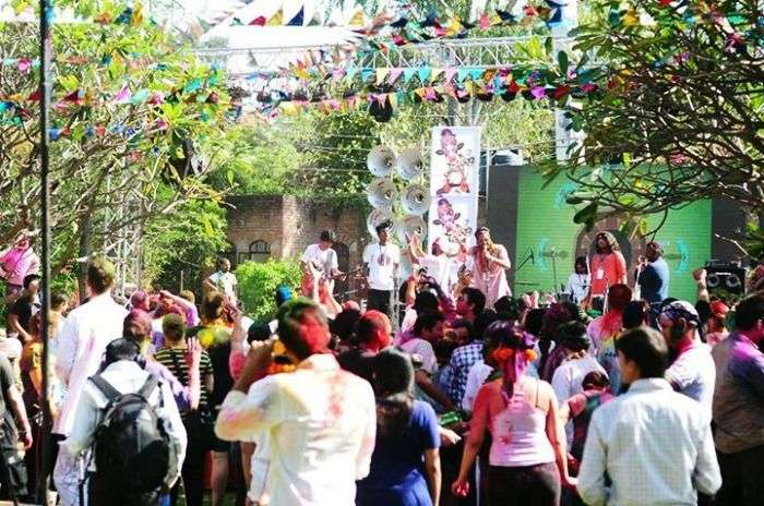 Holi Spring festival Delhi
