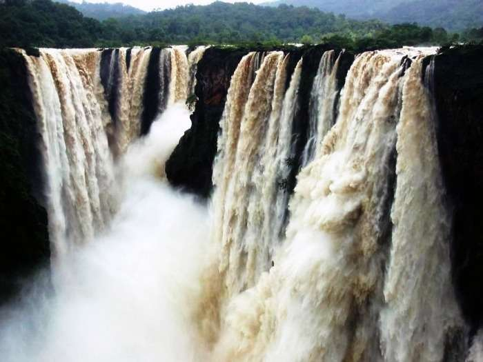 The gushing Jog Falls of Karnataka