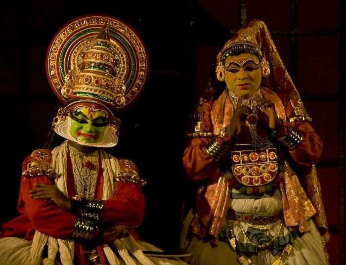 The surreal Kathakali dance form of Kerala