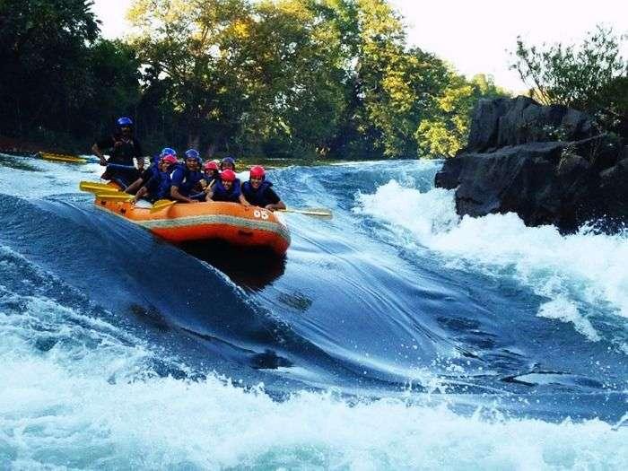Rafting at Kundalika River at Kolad