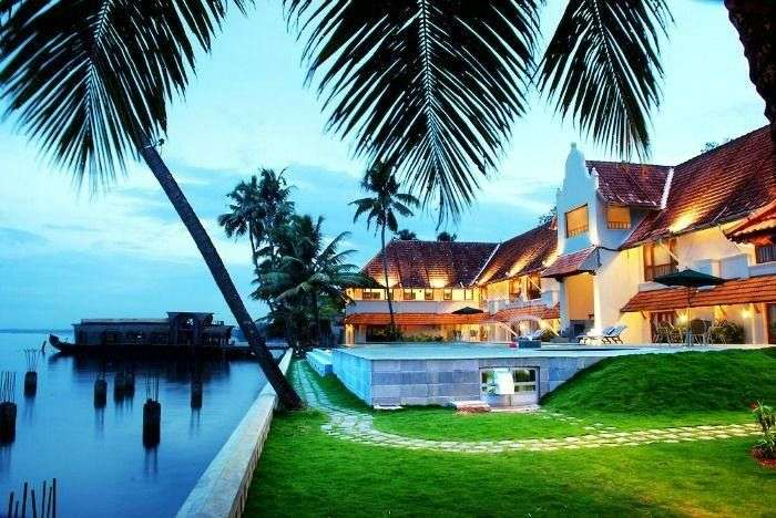 The Lemon Tree Vembanad Lake resort of Kerala