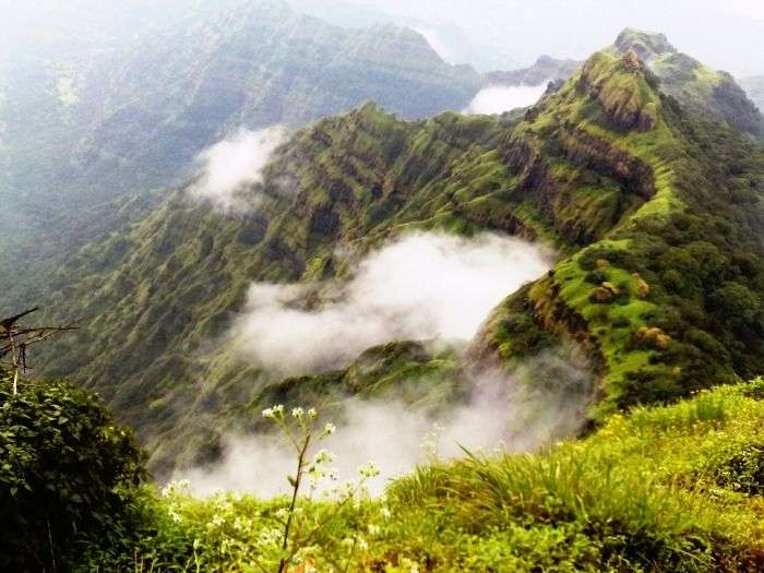 The breathtaking view of Mahabaleshwar