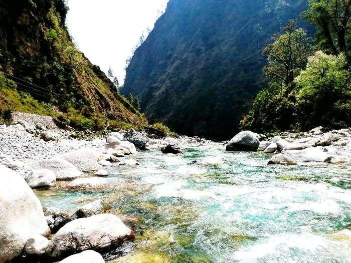Follow the stunning journey of the Mahakali River