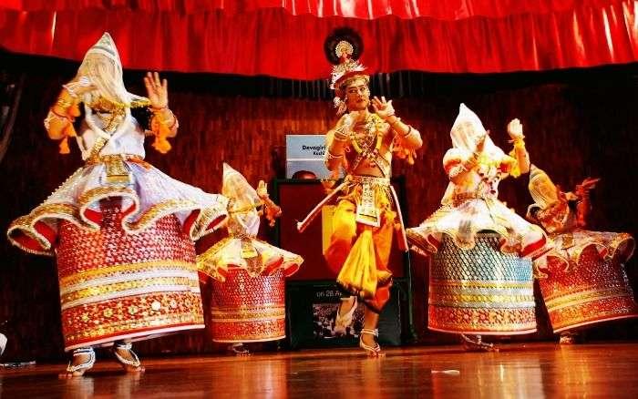 The enchanting Manipuri Dance form