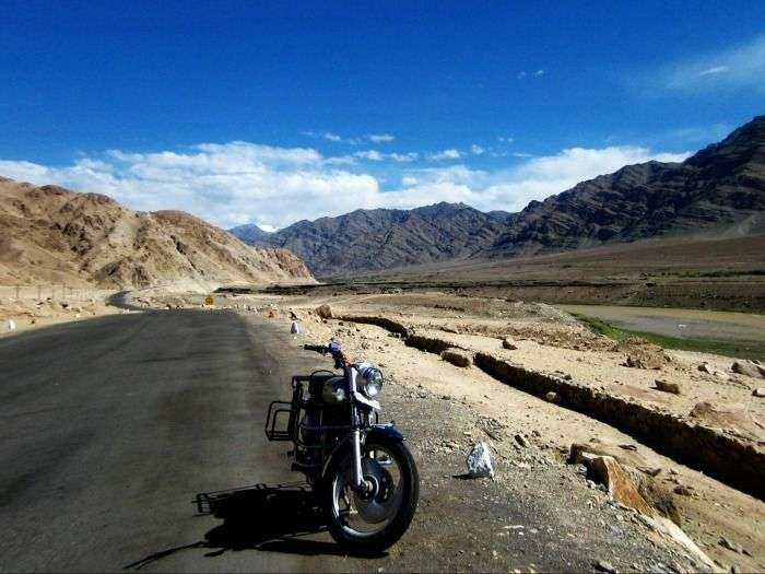 Explore majestic mountains of the Himalayas on motorbike