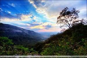 Sunset at Nandi Hills