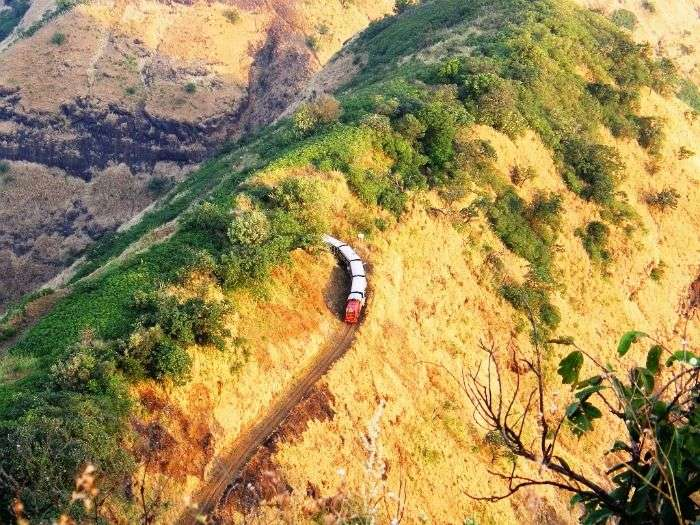 Neral-Matheran toy train in Matheran
