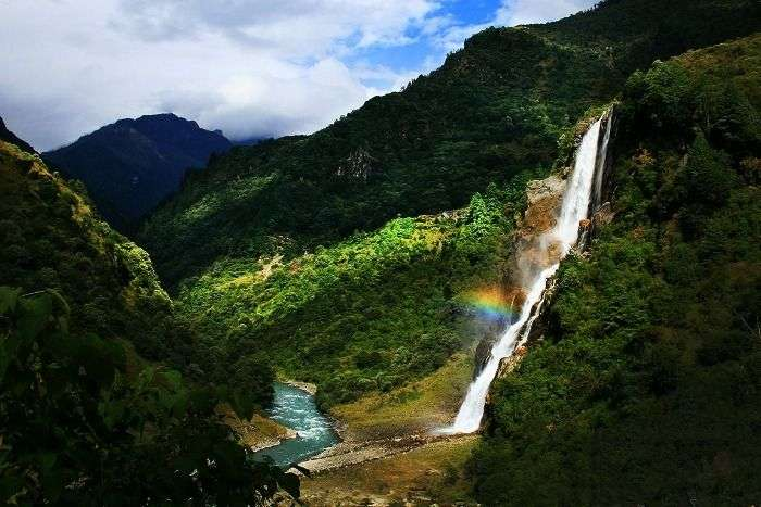 The enchanting Nuranang Falls of Arunachal Pradesh