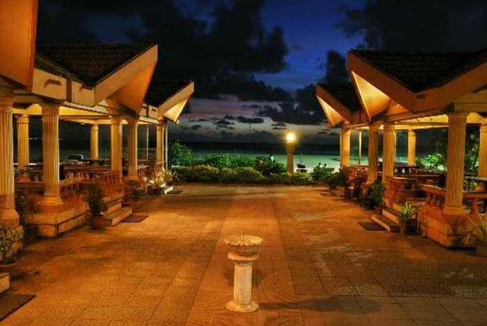 The surreal view from Paradise Isle Beach Resort, Karnataka