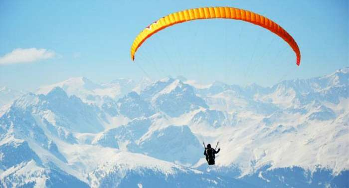 Paragliding In Kangra Valley