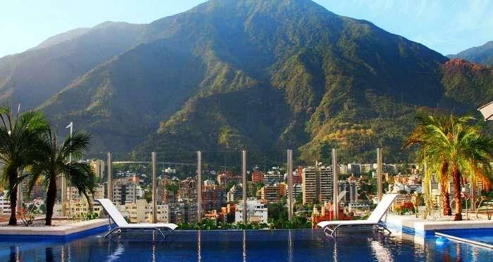 Wide range of scenic views from Pestana Caracas Hotel in Venezuela