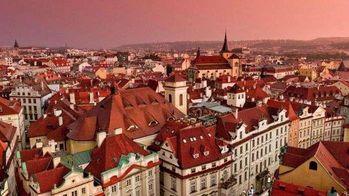 Fine architecture of Prague, Czech Republic