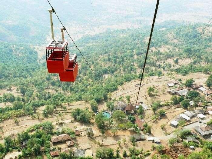 Cable Car at Raigad