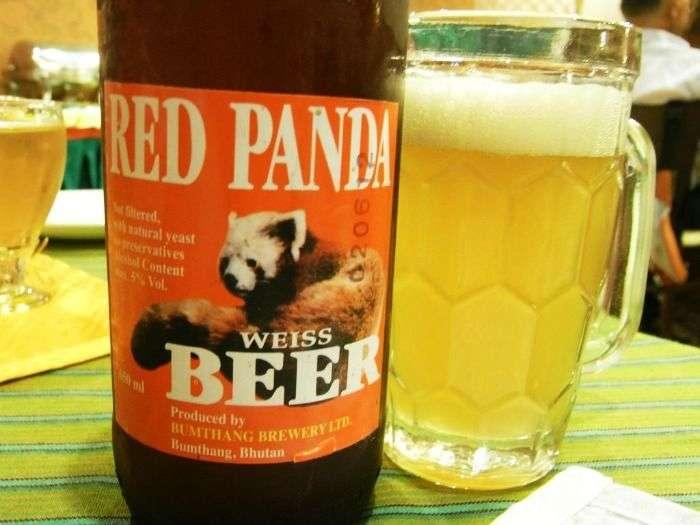 Red Panda Beer in Bhutan's first Brewery