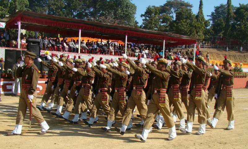 Republic day parade in Guwahati