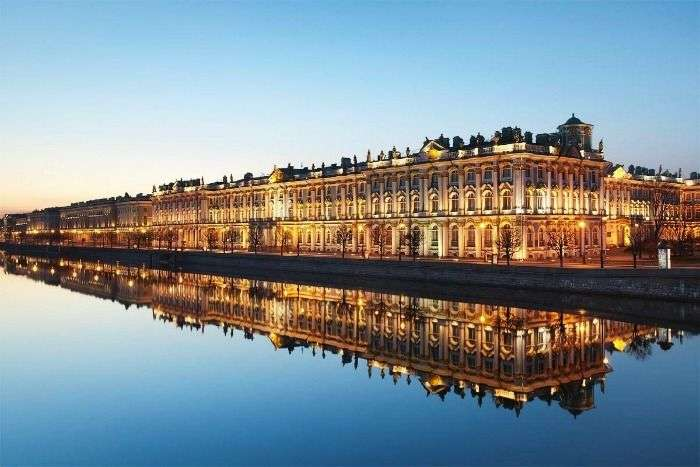Saint Petersburg - biggest museum of art in Russia, situated along the Neva riverside
